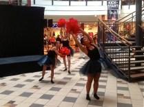Dansbild från invigningen av Citykompaniets 10-årsjubileum. Foto: Helena Sundberg