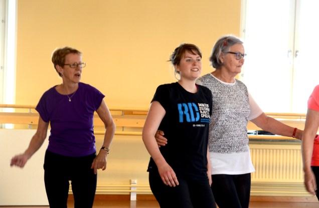 Generationer möts i dansen