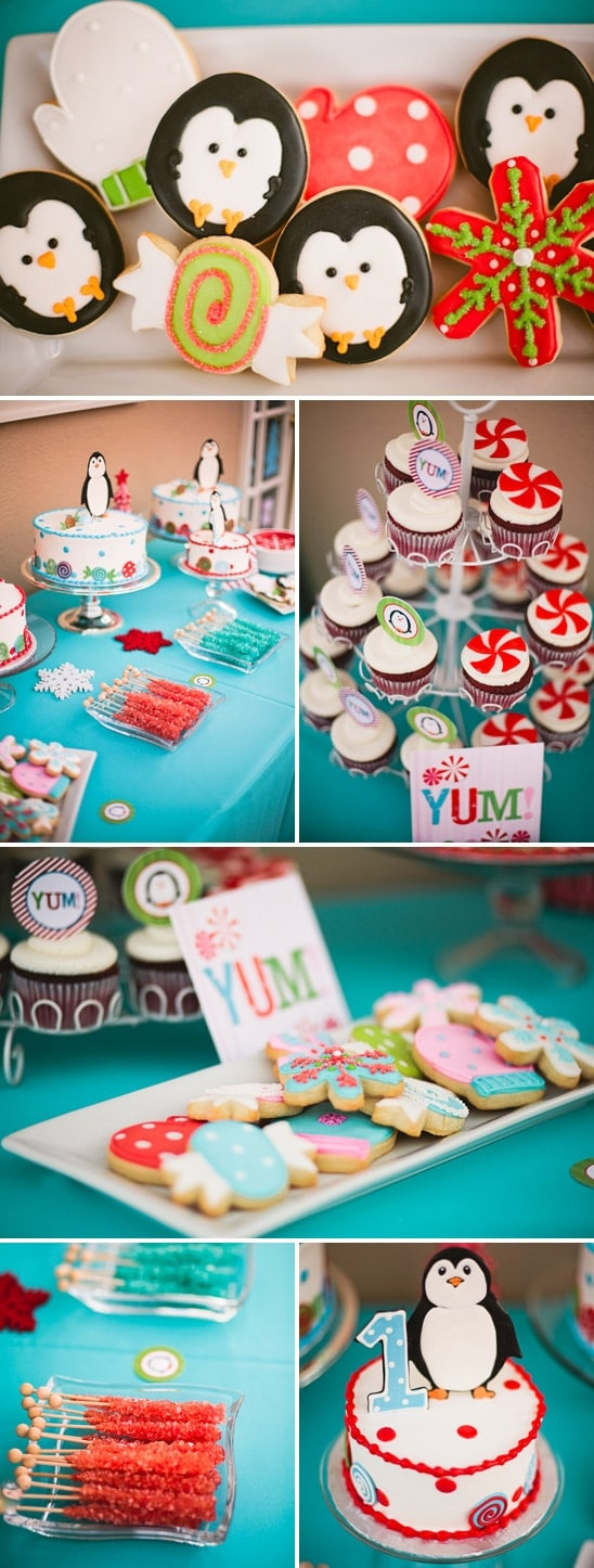 Winter Candyland Themed Birthday Pretty My Party Party
