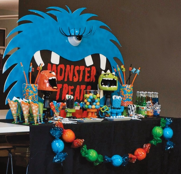 30 Monster Halloween Party Ideas Pretty My Party Party Ideas