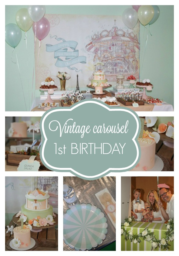 Vintage Carousel Party Pretty My Party