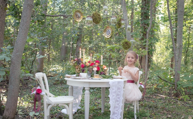 Enchanted Forest Birthday Party Pretty My Party Party
