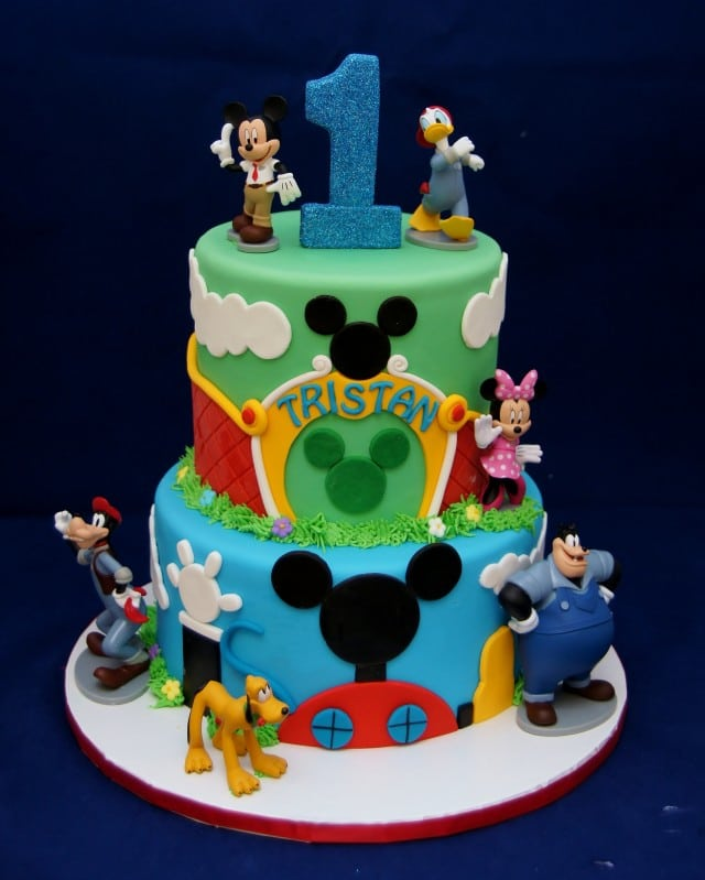 Mickey Mouse Clubhouse Birthday Cake Designs Http Dimitrastories Blogspot Com