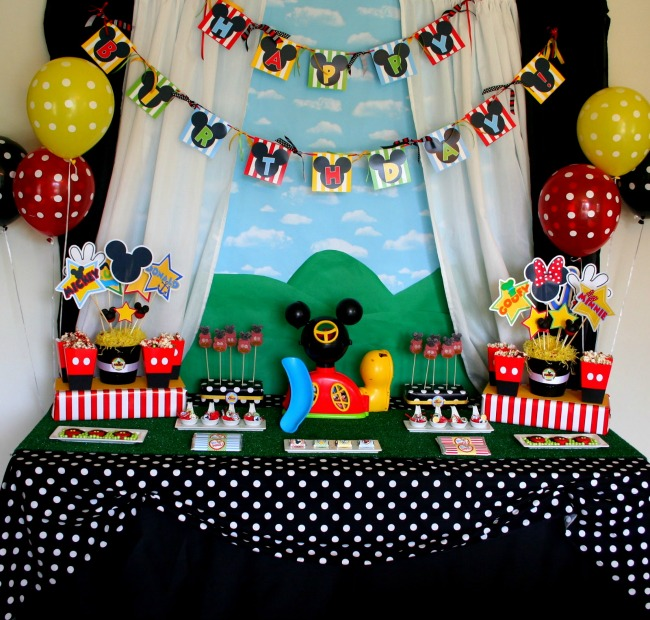 40 Mickey Mouse Party Ideas Mickey S Clubhouse Pretty My Party