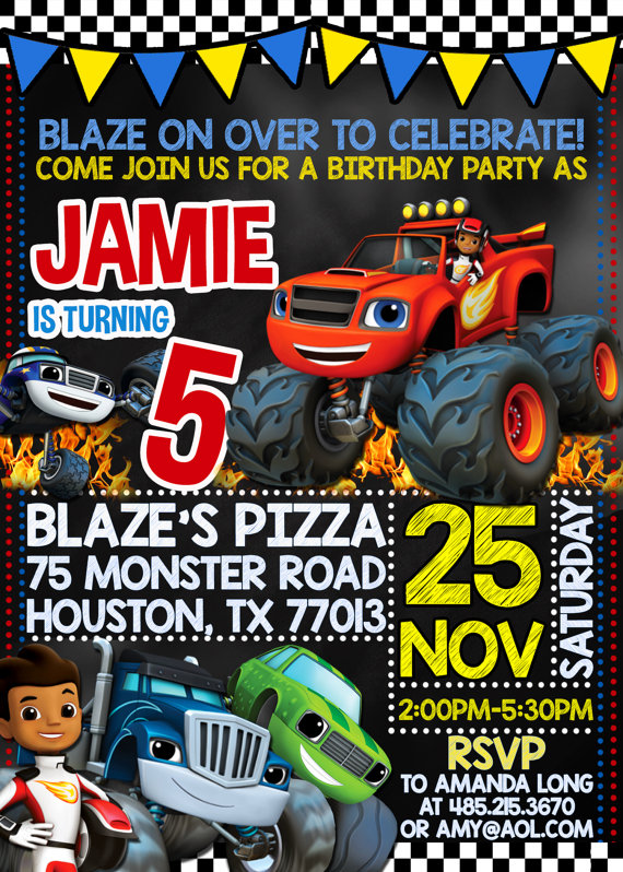 21 Blaze And The Monster Machines Party Ideas Pretty My Party Party Ideas