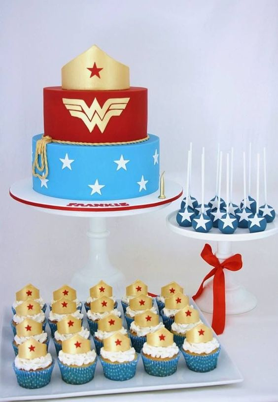 19 Wonder Woman Party Ideas Pretty My Party Party Ideas