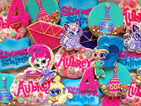 Shimmer And Shine Party Ideas Shimmer And Shine Birthday
