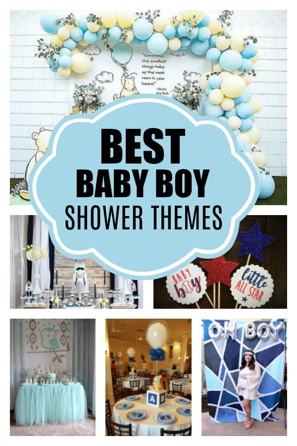 Baby Shower Themes Boys