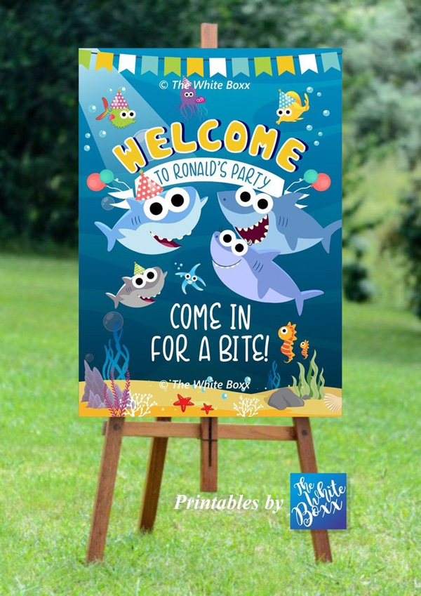 17 cute baby shark party ideas pretty