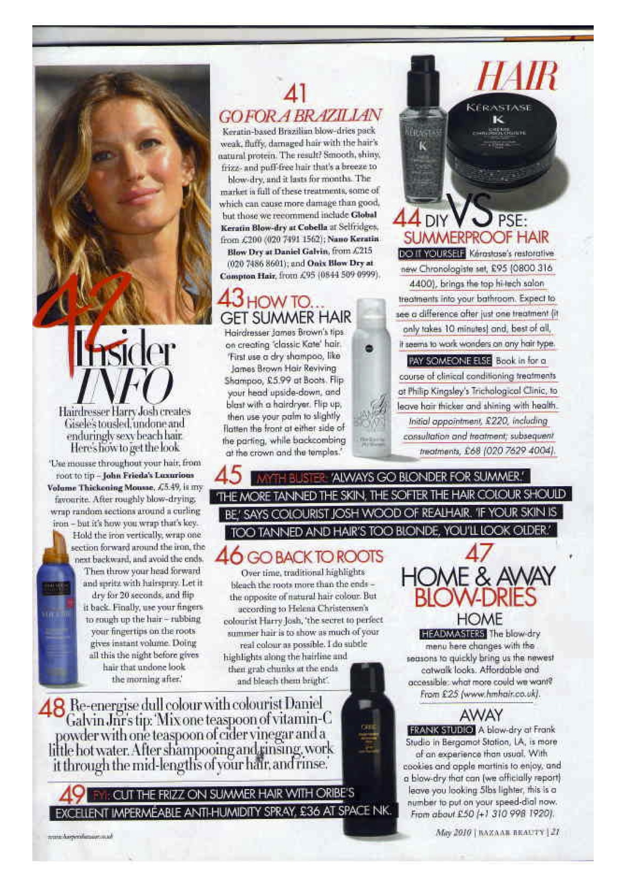 Harpers Bazaar Mentions Zoltan Zoltan Hair Texture London