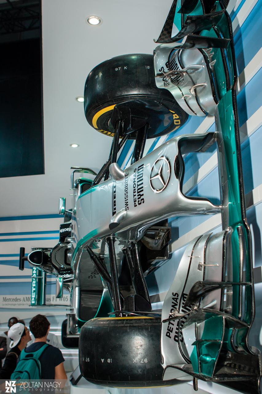Mercedes AMG Petronas F1 W05 Hybrid