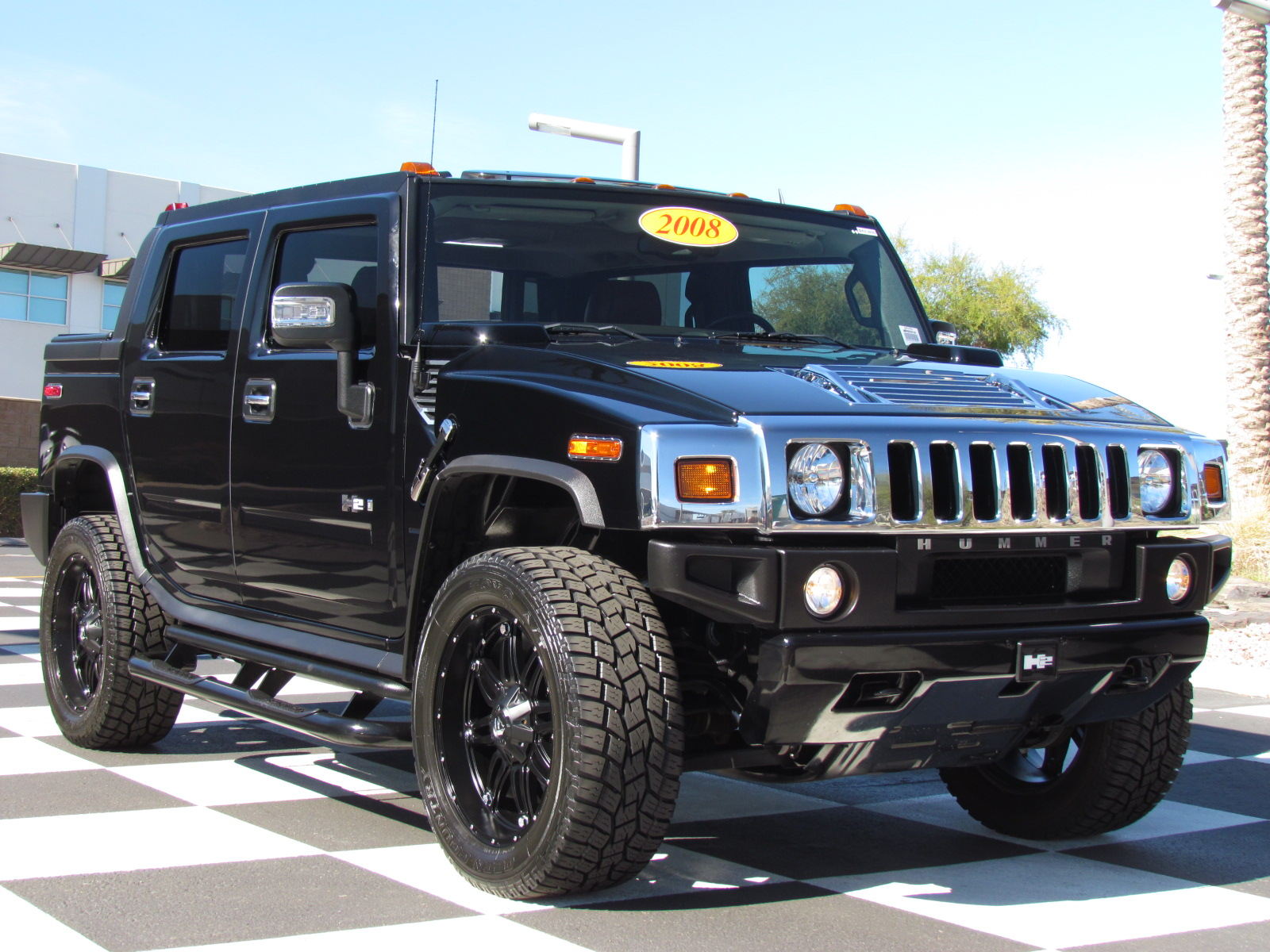 2008 HUMMER H2 SUT Information and photos ZombieDrive