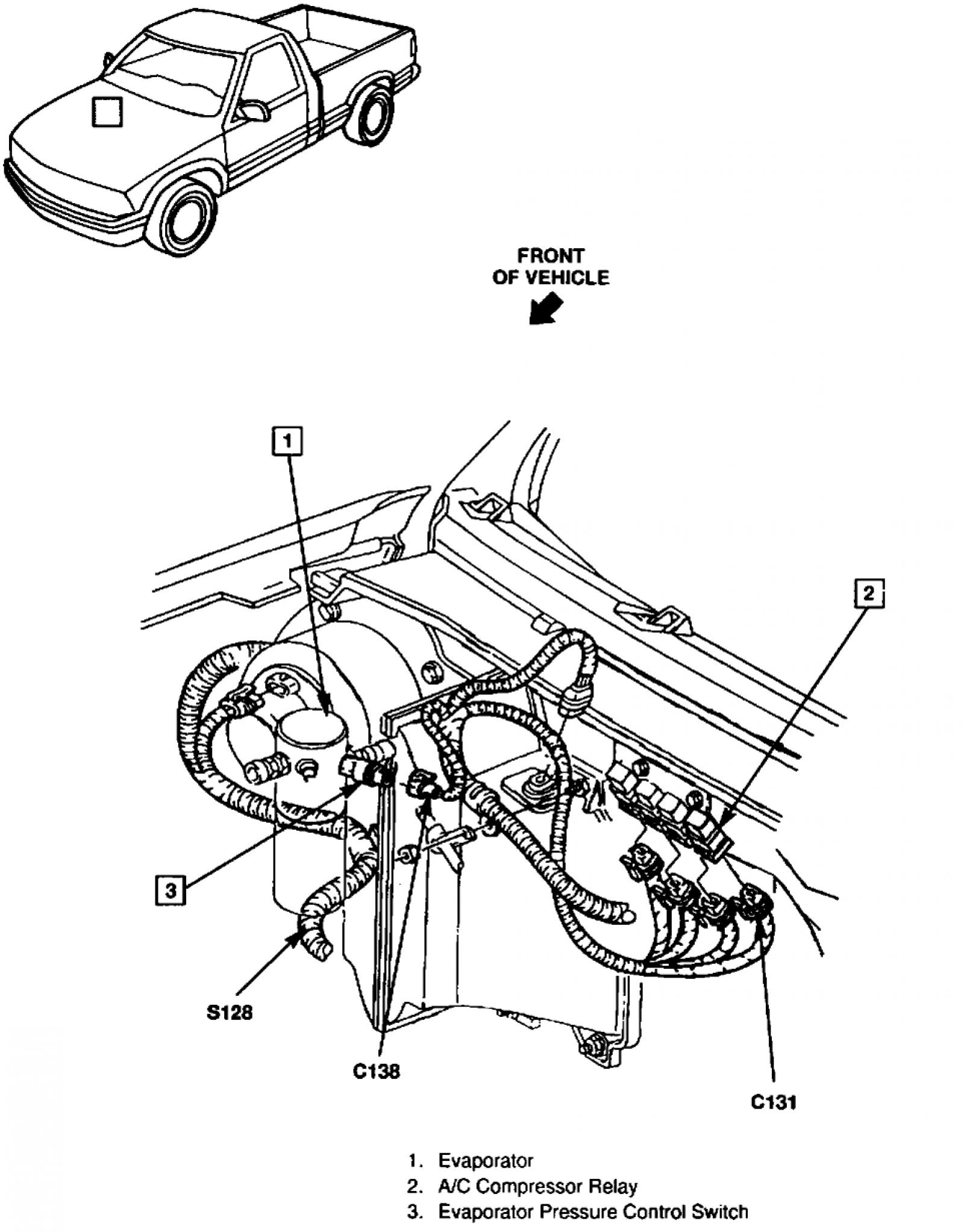 Gmc Sonoma Under The Hood Diagram