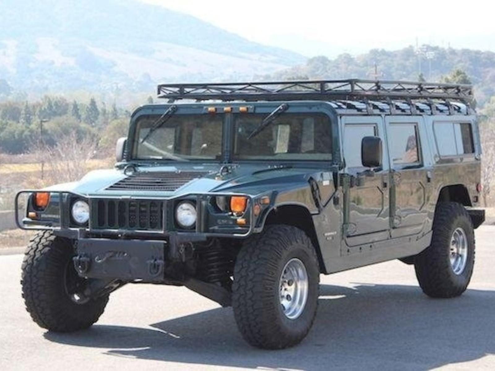 1998 AM General Hummer Information and photos ZombieDrive