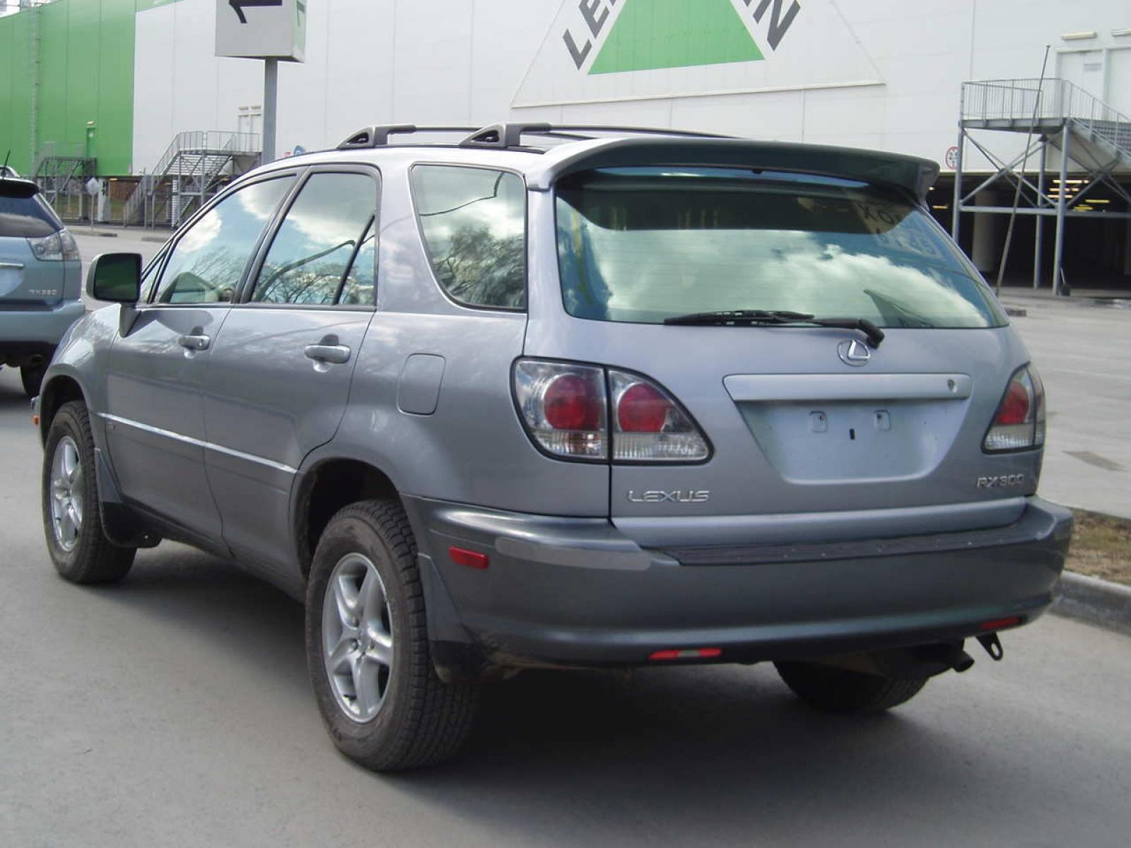 2002 Lexus RX 300 Information and photos ZombieDrive