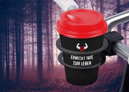 Zombie Kaffee im Becher