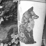 Fox-Made-of-Flowers-Tattoo-by-Dino-Nemec-510x510