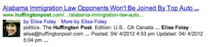Elise Foley's Google Plus Results