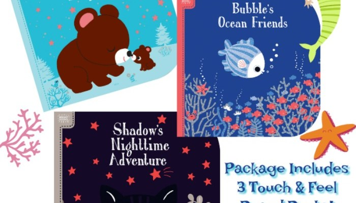 Tickle Baby's Senses With Bright Books
