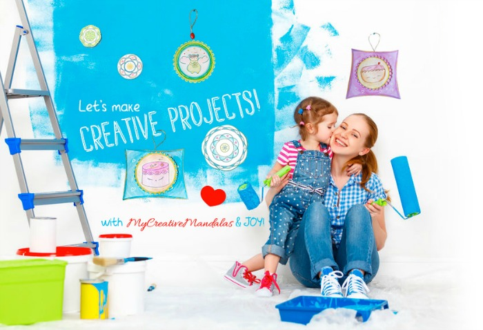 My Creative Mandalas Moms & Kids Creative Kits Giveaway