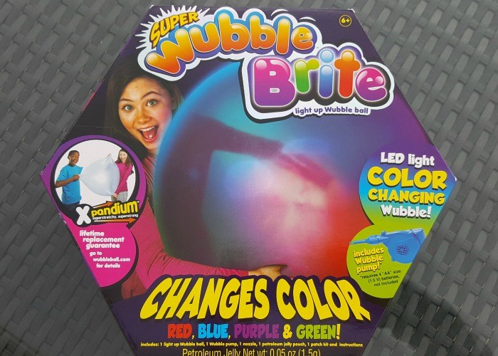 Super Wubble Brite Is Fun For The Whole Family!