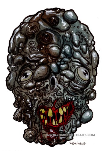 Rot Formations Zombie Artwork