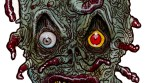 TENTACLE zombie head zombie art