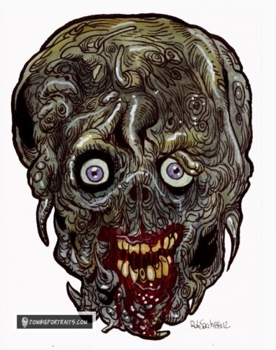 Tendrils Zombie Art