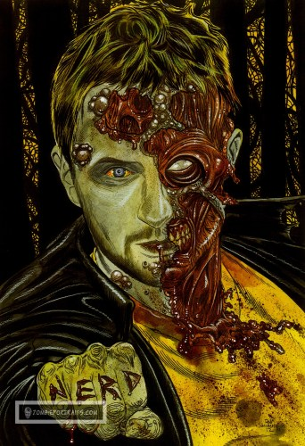 It's a Chris Hardwick Zombie Portrait!
