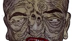 Zombie Art : Big Red Mouth Zombie - Zombie Art by Rob Sacchetto