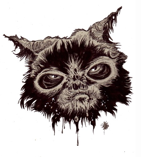 Zombie Art : Grumpy Cat Zombie Zombie Art by Rob Sacchetto