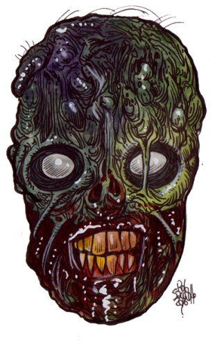 Zombie Art : Ghoul Galore Zombie Art by Rob Sacchetto