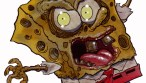 Zombie Art : Sponge Bob Square Pants Zombie Art by Rob acchetto