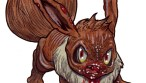 Zombie Art : Eevee Pokemon Go Zombie Zombie Art by Rob Sacchetto