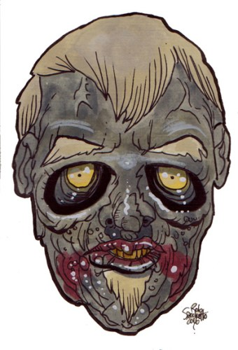 Zombie Art : Everclear Zombie Art by Rob Sacchetto