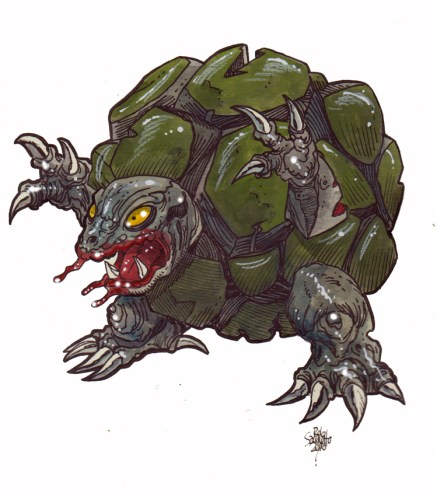 Zombie Art : Golem Pokemon Zombie Art by Rob Sacchetto