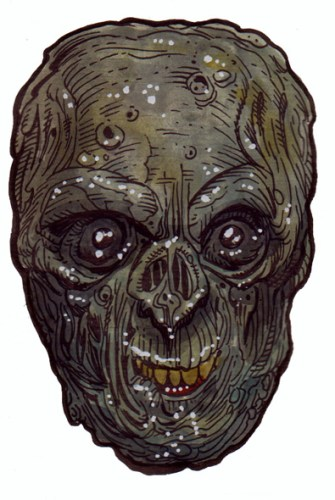 Zombie Art : Wee Rot Smile