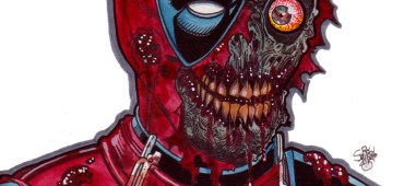 Zombie Art : Zombie Deadpool