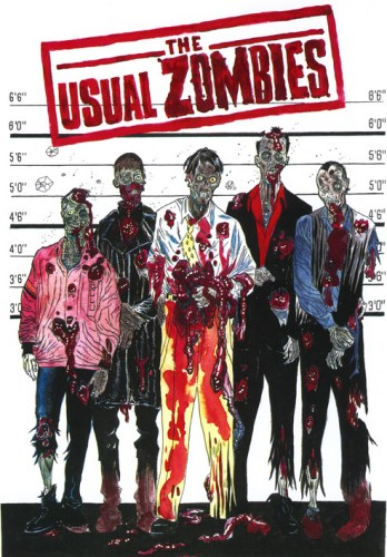 Zombie Art : Usual Zombies Zombie Art by Rob Sacchetto