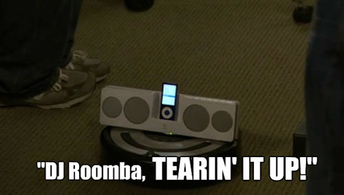 Make Your Own:  Zombie Distractor – Indoor Version (aka DJ Roomba!)