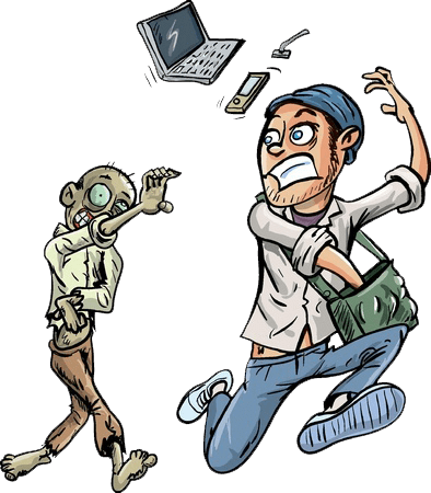 Facebook is DOWN and the technology ZOMBIES loose their MINDS!