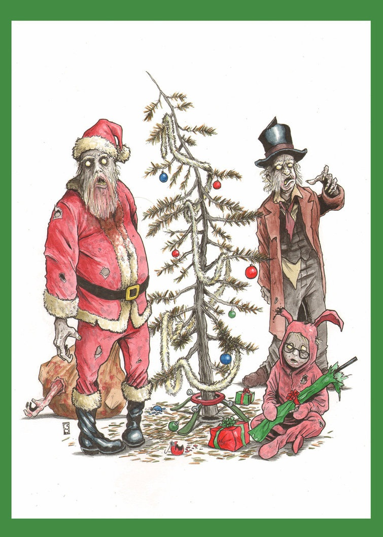 THE LAST CHRISTMAS by Steven Bowman | Zombie Research Society