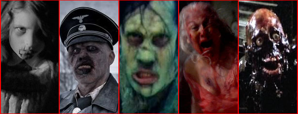 SIX SCARIEST ZOMBIES OF ALL TIME