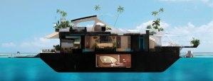 FLOATING ZOMBIE-PROOF ISLAND?