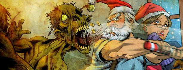 SANTA vs. ZOMBIES by Victor Negreiro