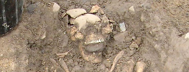 ANCIENT ZOMBIE REMAINS FOUND?