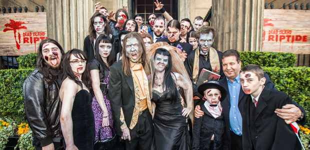 ENGLAND'S FIRST ZOMBIE WEDDING
