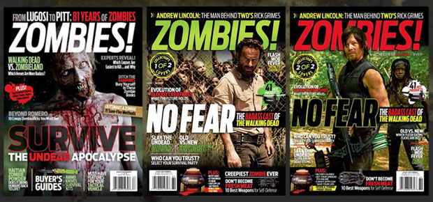 ZRS FEATURED IN ZOMBIES! MAGAZINE