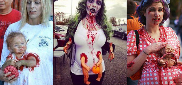 15 BEST PREGNANT ZOMBIE COSTUMES | Zombie Research Society