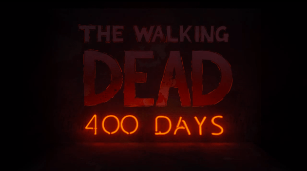 400 Days title screen